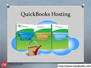 Quickbooks hosting | Cloudwalk Hosting LLC