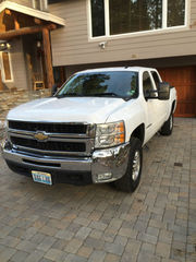 2007 Chevrolet Silverado 2500 Duramax 4x4,  Heated Leather Seats,  Nav.