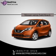Nissan Versa Hatchback | Best Price New Cars